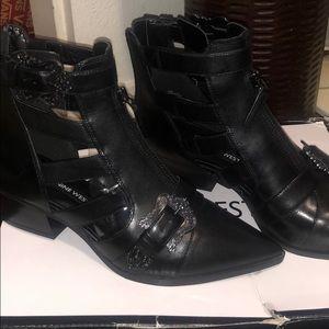 Nine West buckle boots